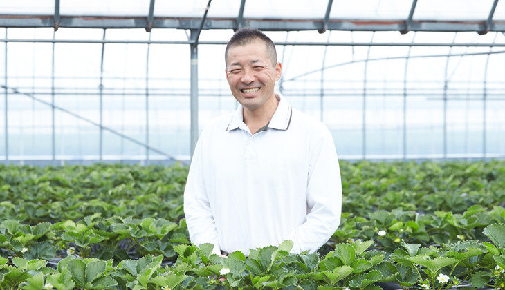 楽農ファームたけした代表・武下浩紹